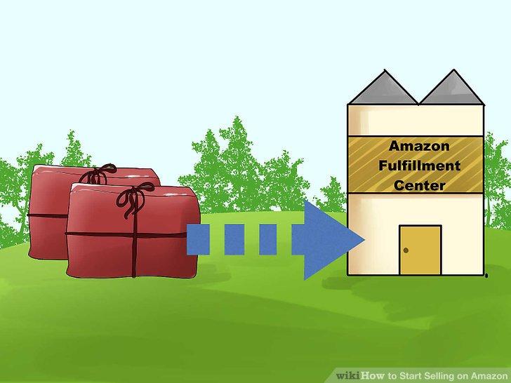 Versenden Sie Ihre Produkte an ein Amazon-Fulfillment-Center.