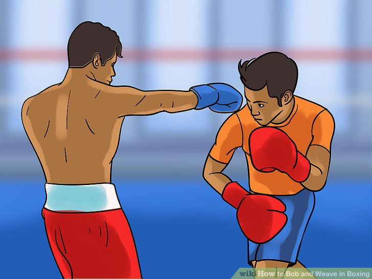 Position yourself for counter punches.