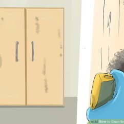 Stripping Kitchen Cabinets Orange How To Clean Smoke Damage (with Pictures) - Wikihow