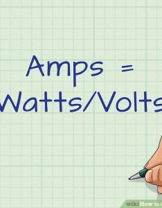 Image titled convert watts to amps step also ways wikihow rh