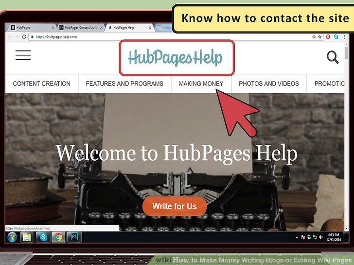 Wissen Sie, wie Sie die Website kontaktieren können.