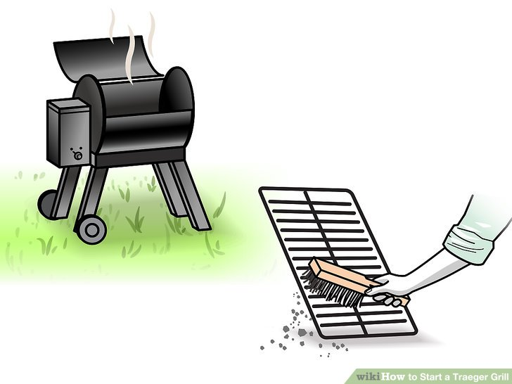 Take any remaining food off the grill.
