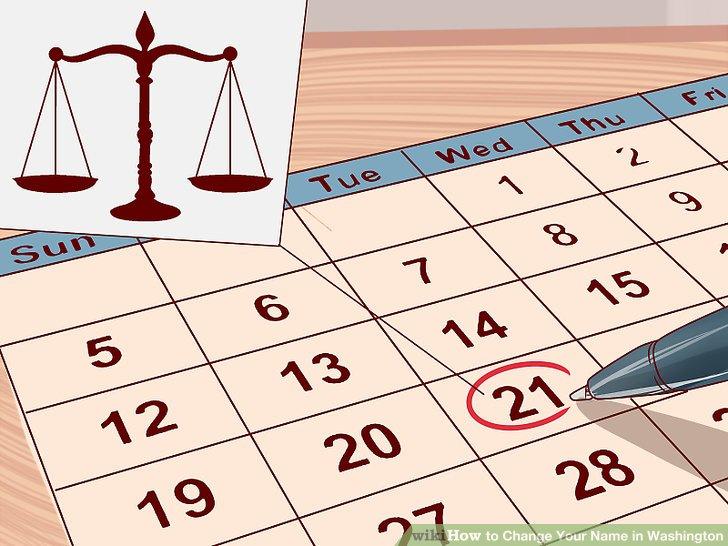 Schedule a court date.