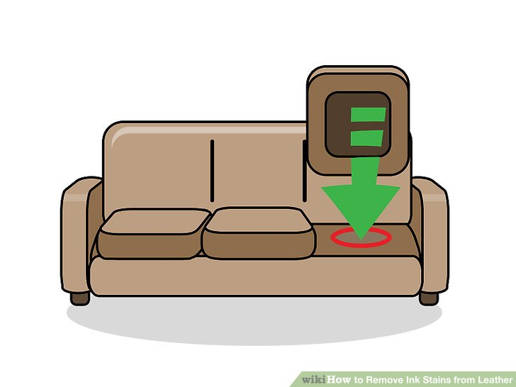 how to get rid of ink marks on leather sofa tetrad factory preston 3 ways remove stains from wikihow image titled step 4