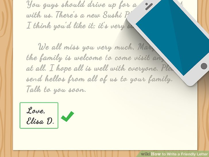 Wie Ist Es Gemacht Wie Schreibt Man Einen Freundlichen Brief
