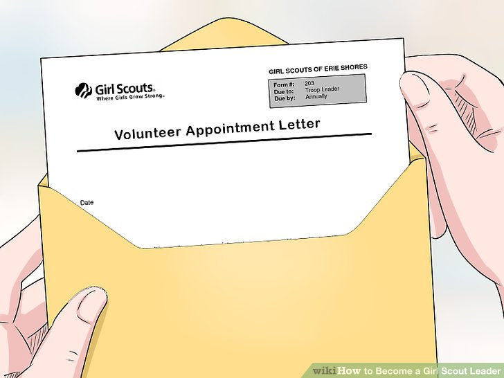 Receive, sign, and return your Volunteer Appointment Letter.