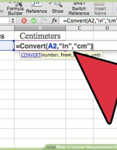 Image titled convert measurements easily in microsoft excel step also ways to wikihow rh