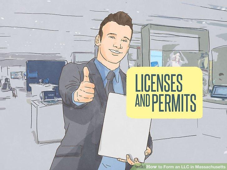 Besorgen Sie sich die erforderlichen Geschäftslizenzen und Genehmigungen.