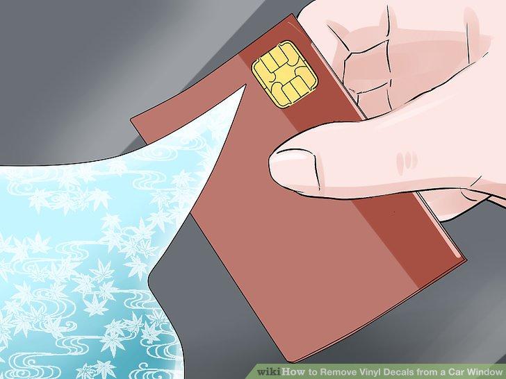 Use a plastic card.