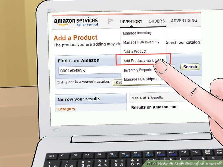 Fügen Sie Artikelinformationen für neue Produkte hinzu, die nicht bereits bei Amazon aufgeführt sind.