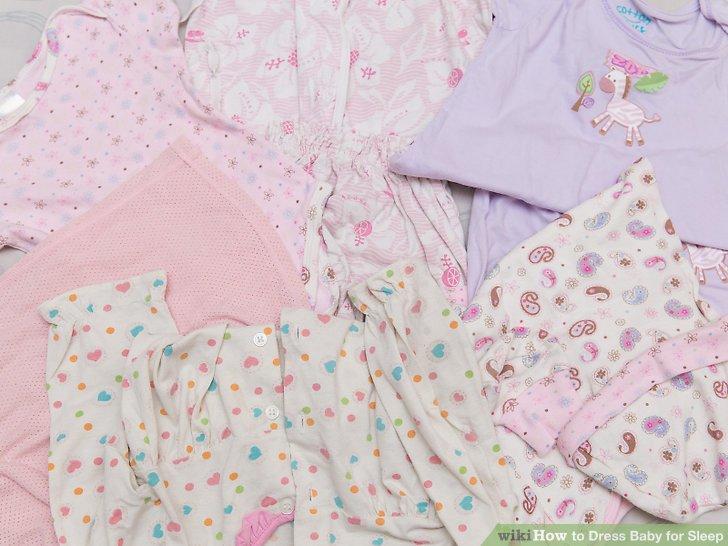 Select sleepwear that is appropriate for the season.