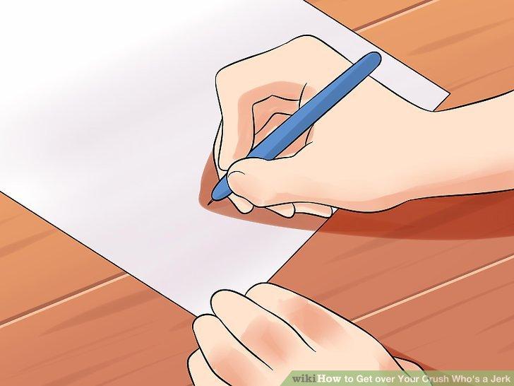Schreiben Sie Ihre Gefühle auf.