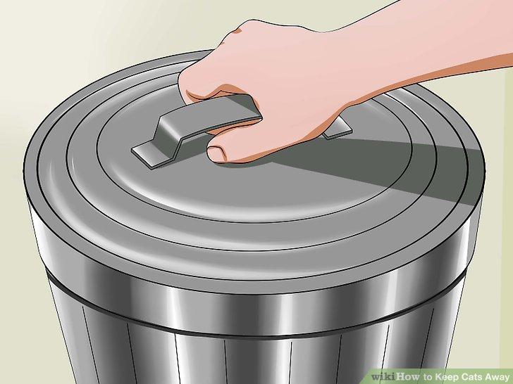 Bewahren Sie den Müll sicher auf.