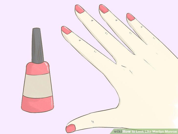 Get the Marilyn nail polish.