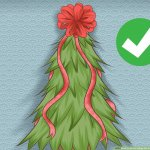 How To Make A Bow For A Christmas Tree Topper 9 Steps