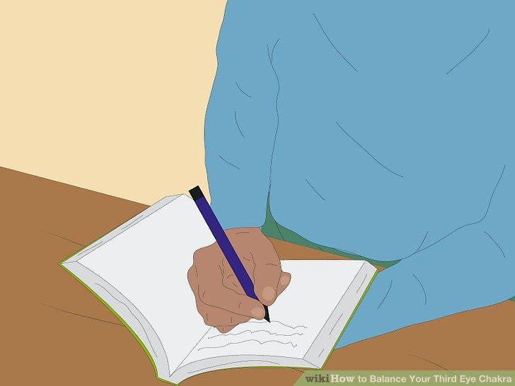 Behalte ein spirituelles Tagebuch