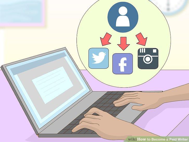 Fördern Sie sich in den sozialen Medien.