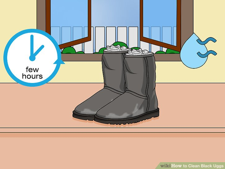 Let the UGGS® air dry.