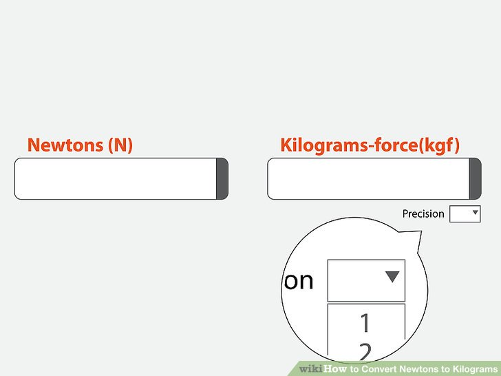 3 Ways to Convert Newtons to Kilograms - wikiHow