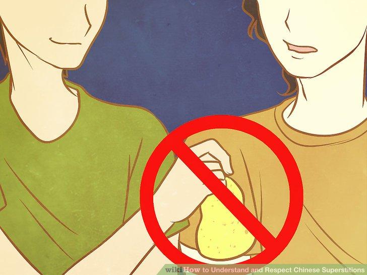 Vermeiden Sie, Birnen enger Freunde anzubieten.