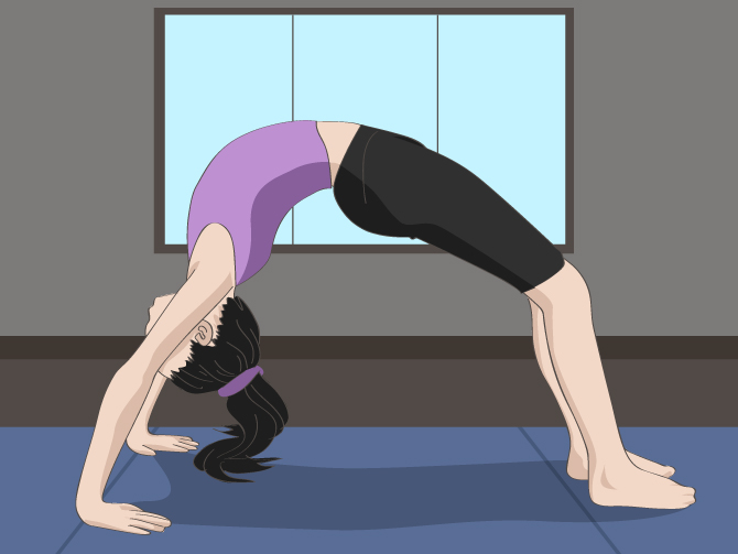 2 Beginners And Poses Yoga People