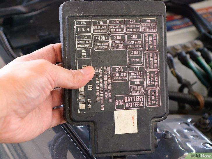 2004 Matrix Fuse Box كيفية فحص الفيوزات Wikihow