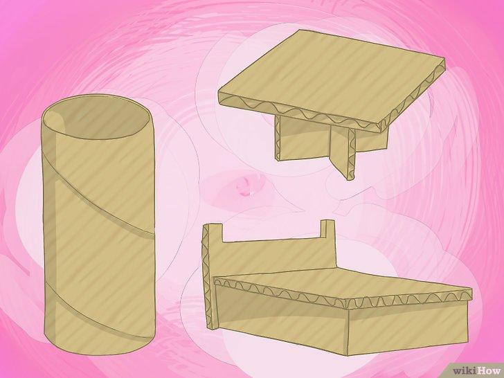 3 formas de hacer una casa de muecas de cartn