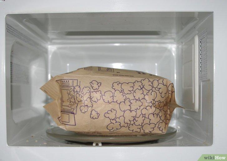 Cmo preparar palomitas en el microondas con mantequilla extra
