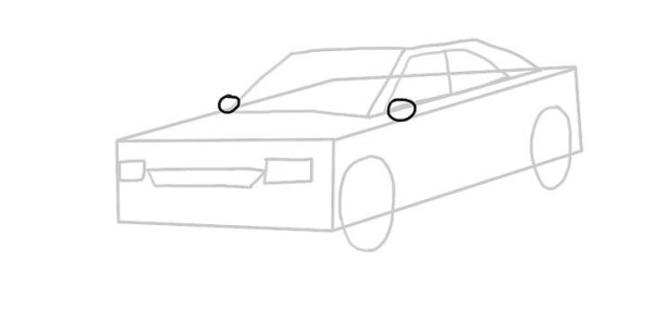 Cara Menggambar Mobil dengan mudah