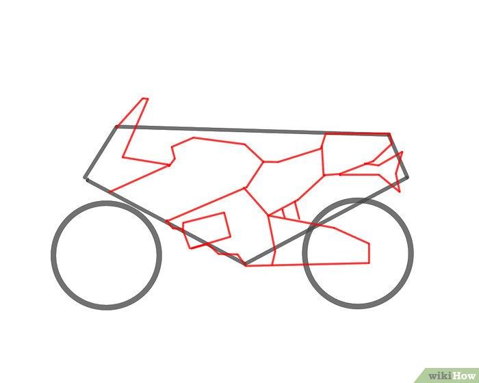 Ein Motorrad zeichnen  wikiHow