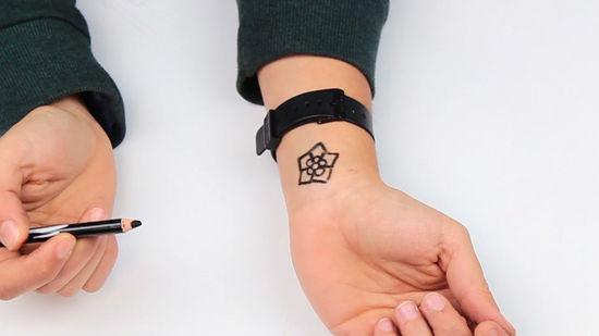 4 Formas De Hacer Un Tatuaje Temporal Wikihow