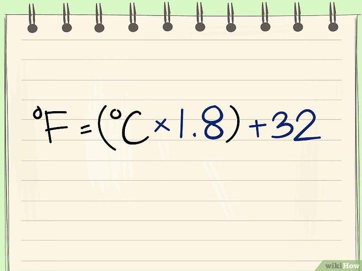 華氏と摂氏の溫度を換算する 6つの方法 - wikiHow