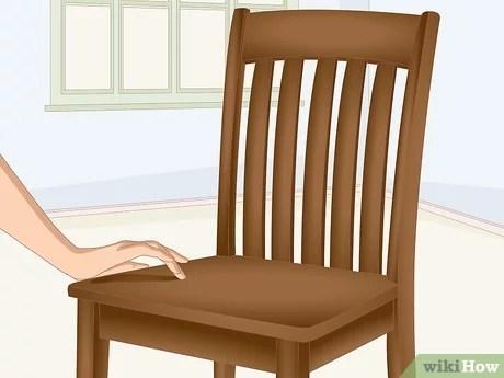 Comment Peindre Une Vieille Chaise En Bois 15 Etapes