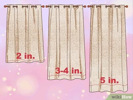 3 manieres de confectionner des rideaux