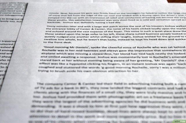 Einen Aufsatz (ein Essay) mit 29 Absätzen schreiben – wikiHow