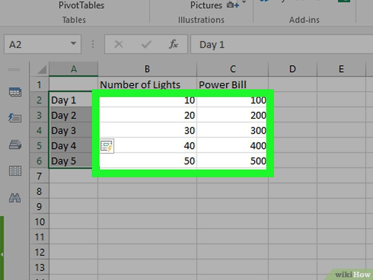 How To Make A Simple Graph Or Chart In Excel