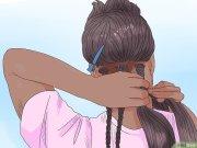 afrikanische haare flechten wikihow