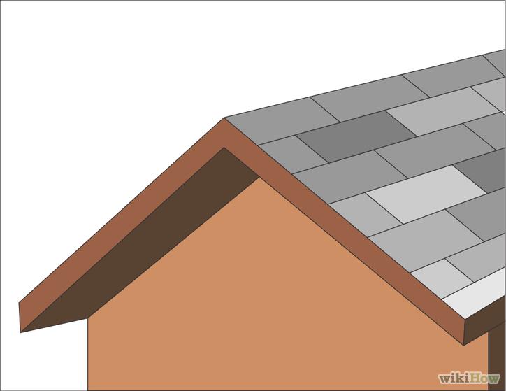 Cmo construir un techo de dos aguas 13 pasos  wikiHow
