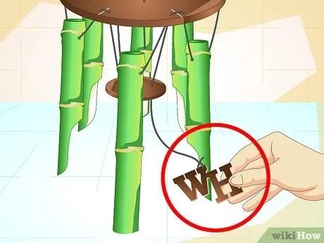 comment faire un carillon en bambou
