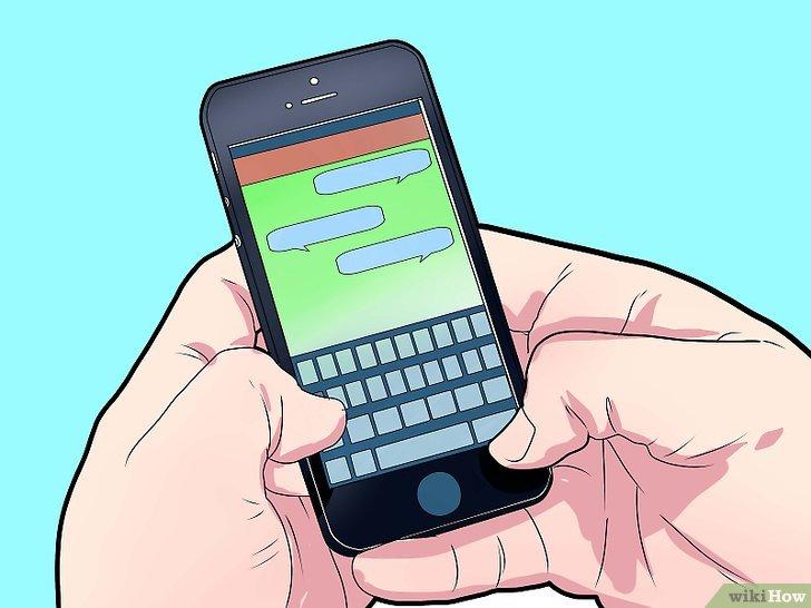 المغازلة من خلال الرسائل النصية