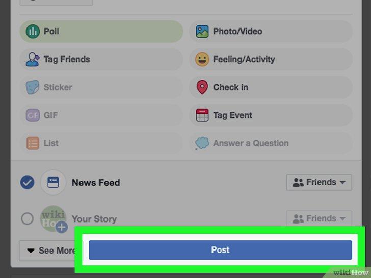 كيفية إنشاء استطلاع رأي على فيسبوك