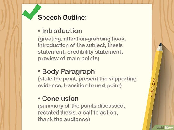 Cómo dar un buen discurso improvisado: 12 Pasos