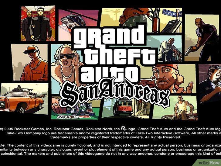 كيفية تثبيت لعبة Grand Theft Auto San Andreas