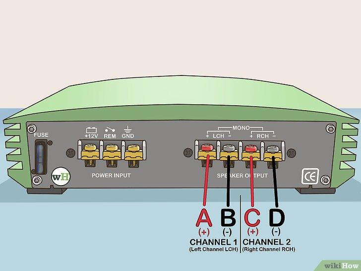 wiring diagram for a sony xplod stereo lifan 125cc engine come collegare ponte un amplificatore: 7 passaggi