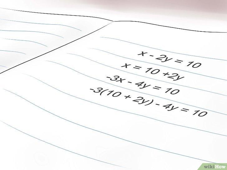 3 Modi per Risolvere le Equazioni Algebriche Lineari a più