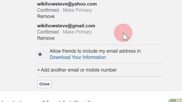 Deine E Mailadresse auf Facebook ändern – wikiHow