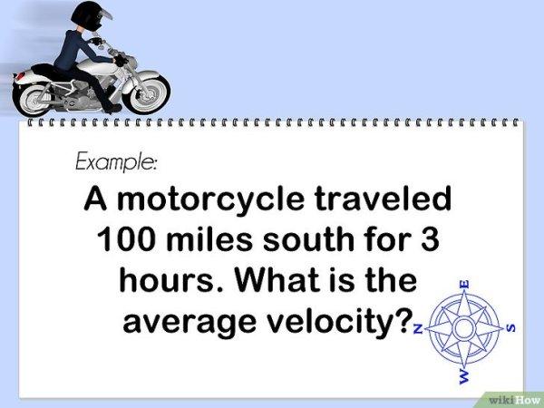 3 Modi per Calcolare la Velocità Vettoriale Media