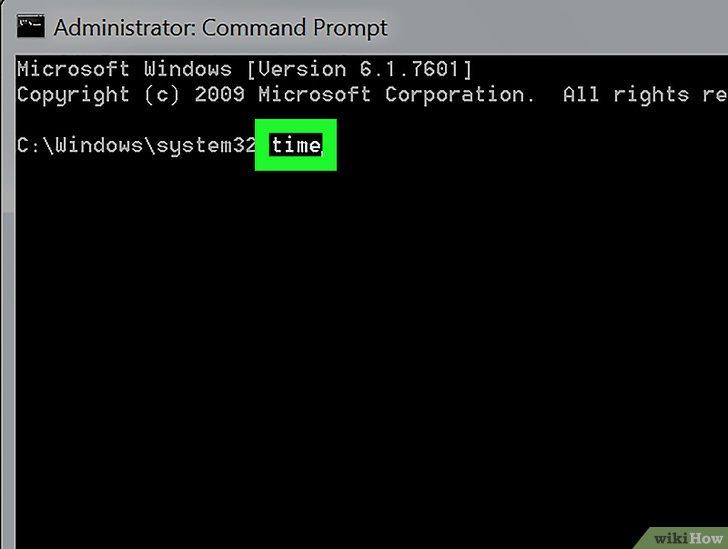 كيفية تغيير وقت وتاريخ الحاسوب باستخدام موجه الأوامر