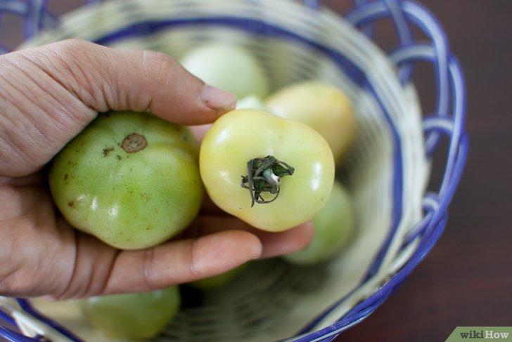 4 formas de madurar tomates verdes  wikiHow