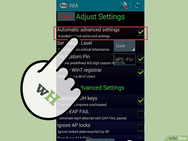 صورة عنوانها Hack Wi Fi Using Android Step 6